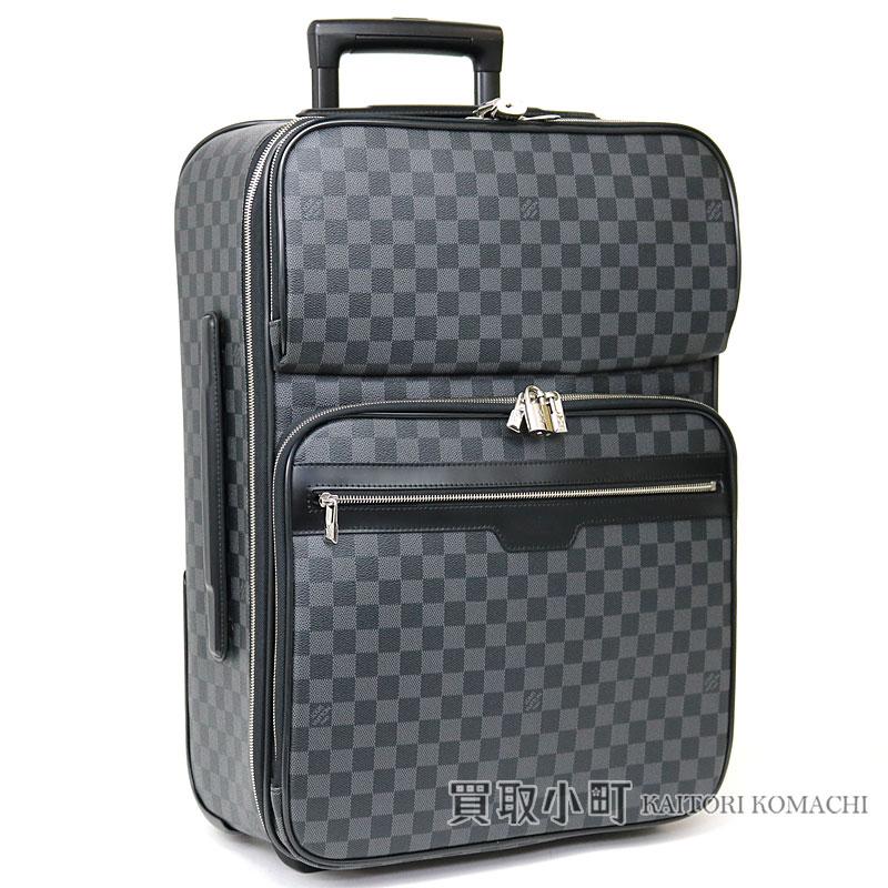 1ac8ea1ebf KAITORIKOMACHI  Trip bag suitcase travel kolo kolo cart LV Pegase 55  Business Damier Graphite Travel Rolling Luggage with Louis Vuitton N23300  ペガス ...