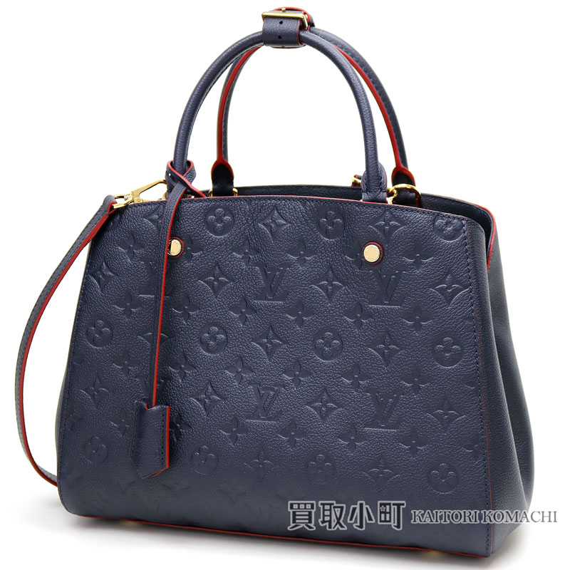 121883b674b75 KAITORIKOMACHI  Louis Vuitton M42746 Montaigne MM monogram amplifier Lunt  malines rouge tote bag shoulder bag handbag oar leather LV MONTAIGNE MM  MONOGRAM ...