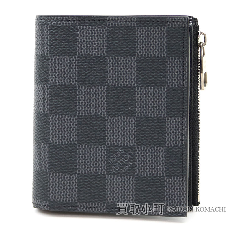 1d06c3127894 Compact wallet LV SMART WALLET DAMIER GRAPHITE with folio wallet men coin  case with the Louis Vuitton N64021 ポルトフォイユスマートダミエグラフィット coin ...