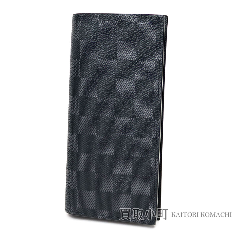 6ace807173a6 Men s wallet LV Alexandre Wallet Damier Graphite  N orchid with the folio long  wallet coin case with the Louis Vuitton N64414 ポルトフォイユアレクサンドル ...