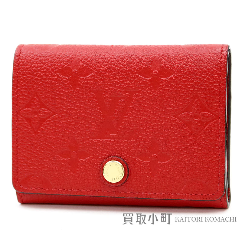 Kaitorikomachi Card Case Pass Case Lv Business Card Holder Monogram