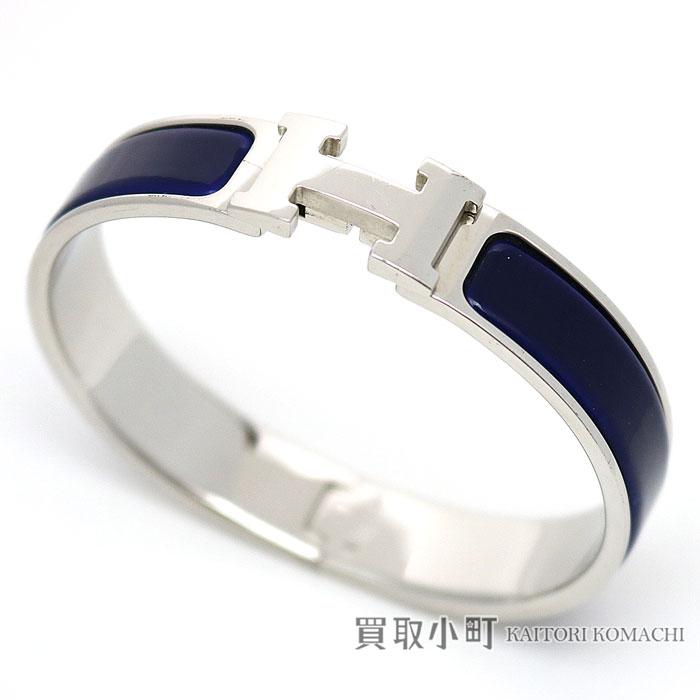 75260b1ab3 Hermes click H enamel bracelet blue palladium play Ted bangle click Ashe PM  click crack PM ...