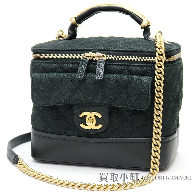 KAITORIKOMACHI | Rakuten Global Market: Chanel caviar skin vanity ...