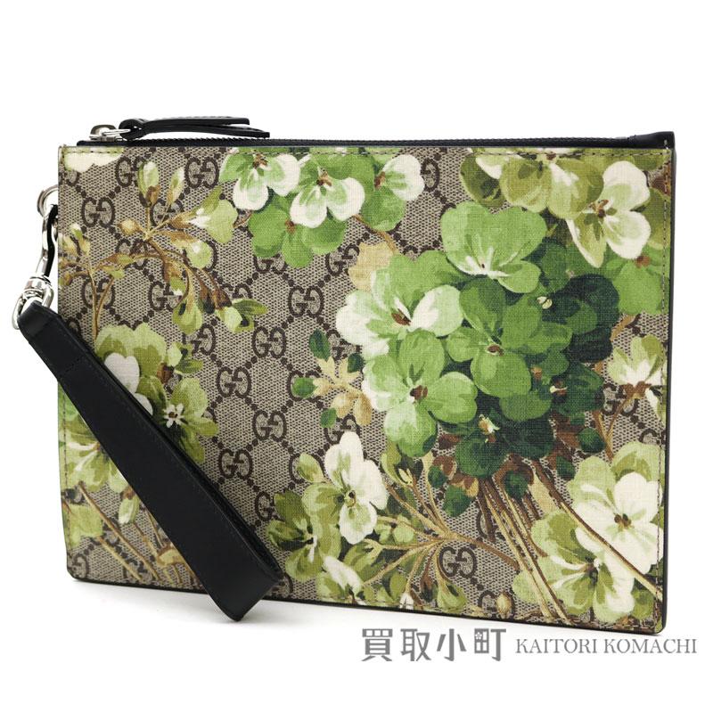 f5346a7734ddd6 Gucci GG bloom pickpocket stretto clutch bag GG  スプリームキャンバスベージュグリーンドキュメントケースセカンドバッグ ...