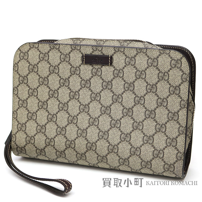 201755 Men Fcieg 9643 With List Of Gucci Gg Plus Second Bag Beige X Dark Brown Handbags Let Leather Strap