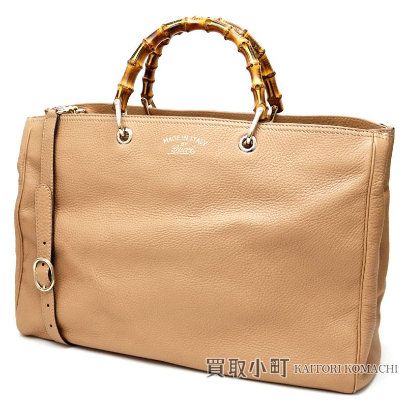 5dcae0aa888a KAITORIKOMACHI: Limited model calf-leather Flora canvas lining tote bag  bamboo steering wheel handbag 2WAY shoulder bag 323658 BAMBOO SHOPPER LARGE  FLORA of ...