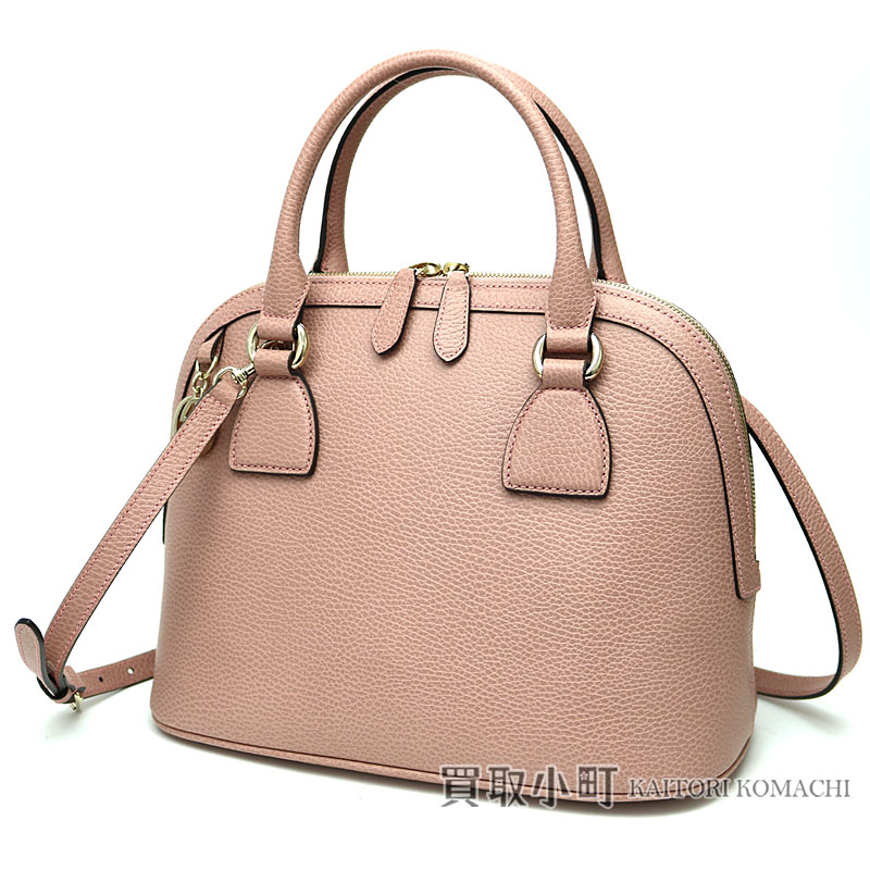 7577de832 KAITORIKOMACHI: Gucci interlocking grip G charm handbag pink calf ...