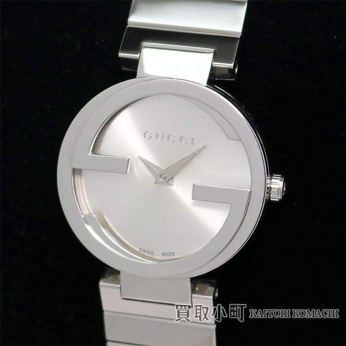 378a42634e3 Watch 308547 I1600 1402 133.5 YA133503 Interlocking G Iconic Bezel Women s  Watch for the Gucci interlocking grip collection Lady s watch 29MM silver  dial ...