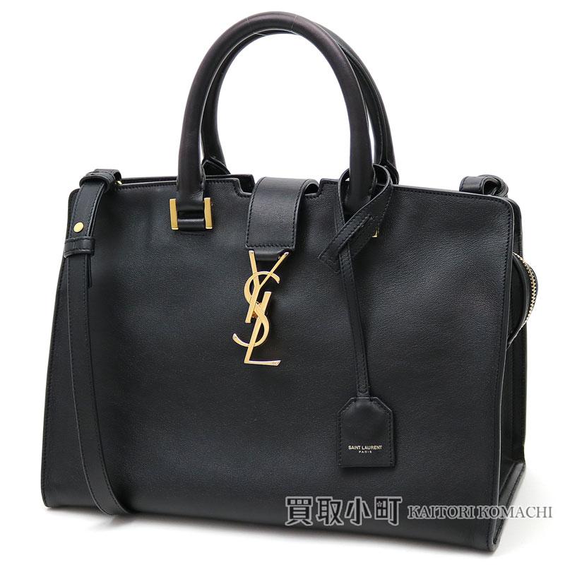 Eve サンローランモノグラムサンローランキャバスバッグスモールブラックレザー Ysl Line Hippopotamuses Tote Bag Handbag Saint Lau Paris 394461 Bj50j 1000