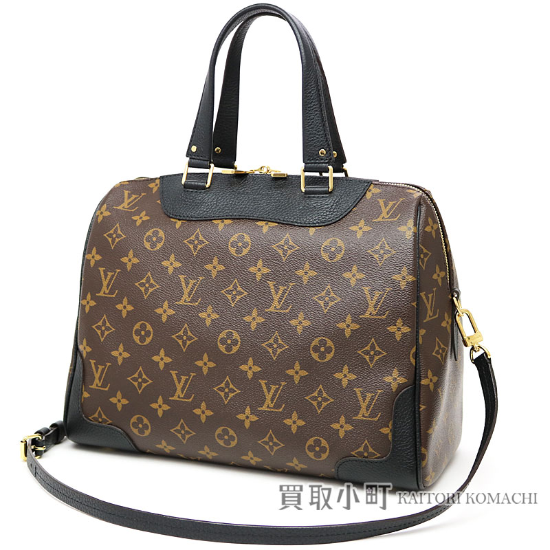 f99e5faa68a2 Louis Vuitton M50058 レティーロノワールモノグラムカウハイドレザートートバッグ 2WAY shoulder bag black LV  RETIRO MONOGRAM NOIR TOTE BAG