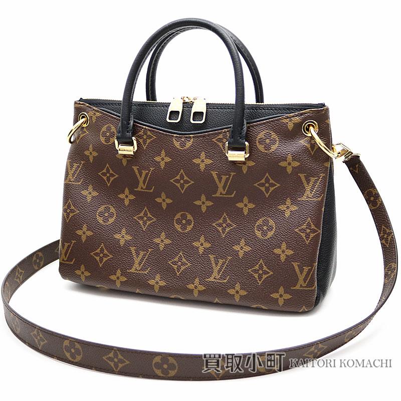 31d2e7228b61 Take Louis Vuitton M42960 Pallas BB モノグラムノワールブラックグレインカーフショルダーバッグ 2WAY bag  slant  LV PALLAS BB MONOGRAM NOIR SHOULDER BAG