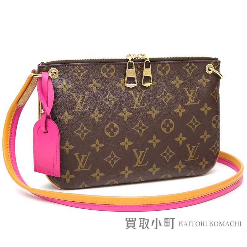 319a5f3d5c3d Take Louis Vuitton M44053 Lauretta monogram hot pink shoulder bag crossbody  bag slant; LV LORETTE MONOGRAM HOT PINK