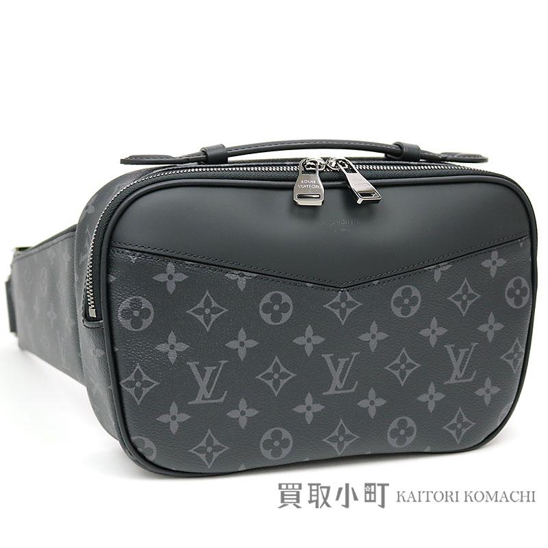 Kaitorikomachi Take Louis Vuitton M42906 Bam Bag Monogram Eclipse