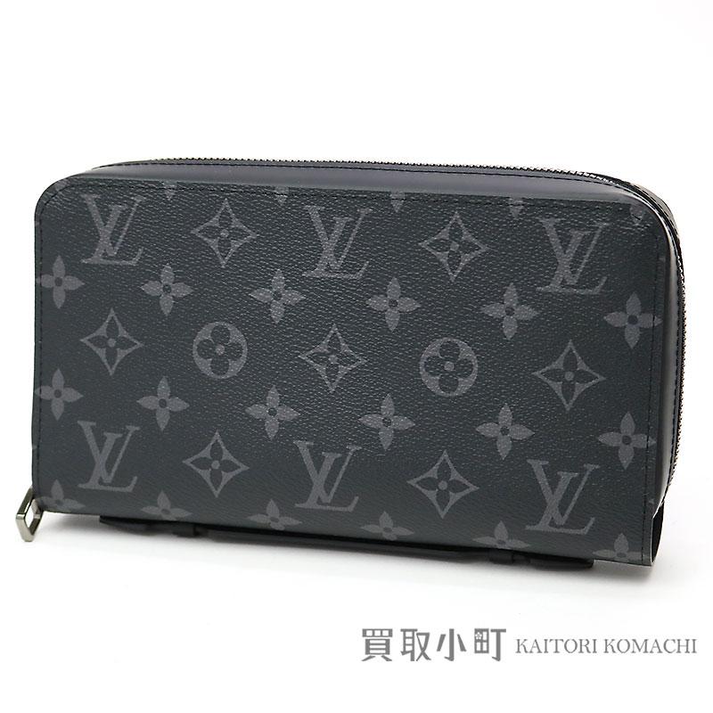 bc249dc93cd6 Louis Vuitton M61698 ジッピー XL monogram eclipse round fastener long wallet  サイフメンズトラベルケースクラッチバッグジッピーウォレット LV ZIPPY XL WALLET ...