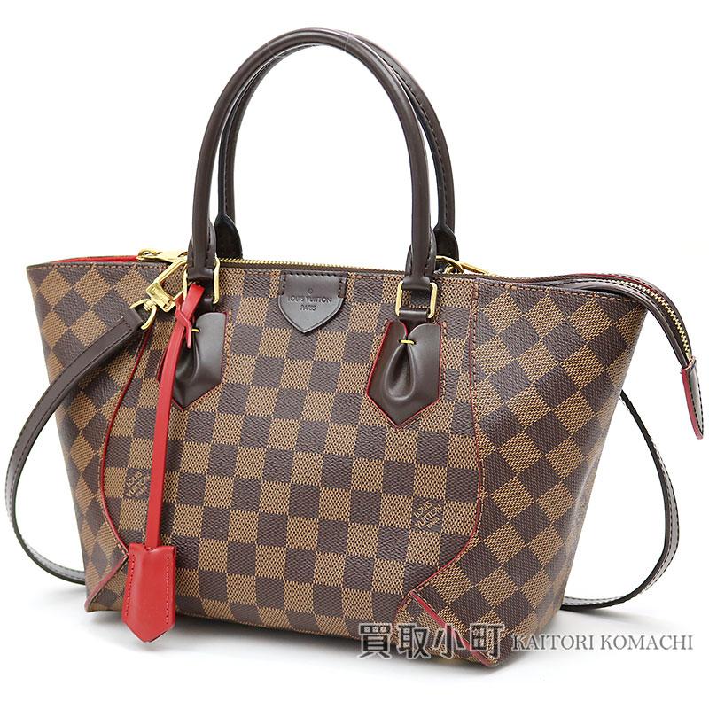 8f5b592f1e5b Louis Vuitton N41551 カイサトート PM ダミエスリーズトートバッグ 2WAY shoulder bag handbag  cherry red LV CAISSA TOTE PM DAMIER EBENE CHERRY TOTE BAG