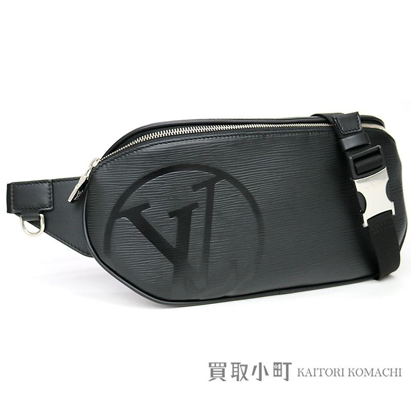 06f57dded8110 Take Louis Vuitton M53300 Bam bag LV サークルエピノワールシルバー metal fittings  crossbody bag shoulder bag slant  men s bag black leather LV BUMBAG EPI ...
