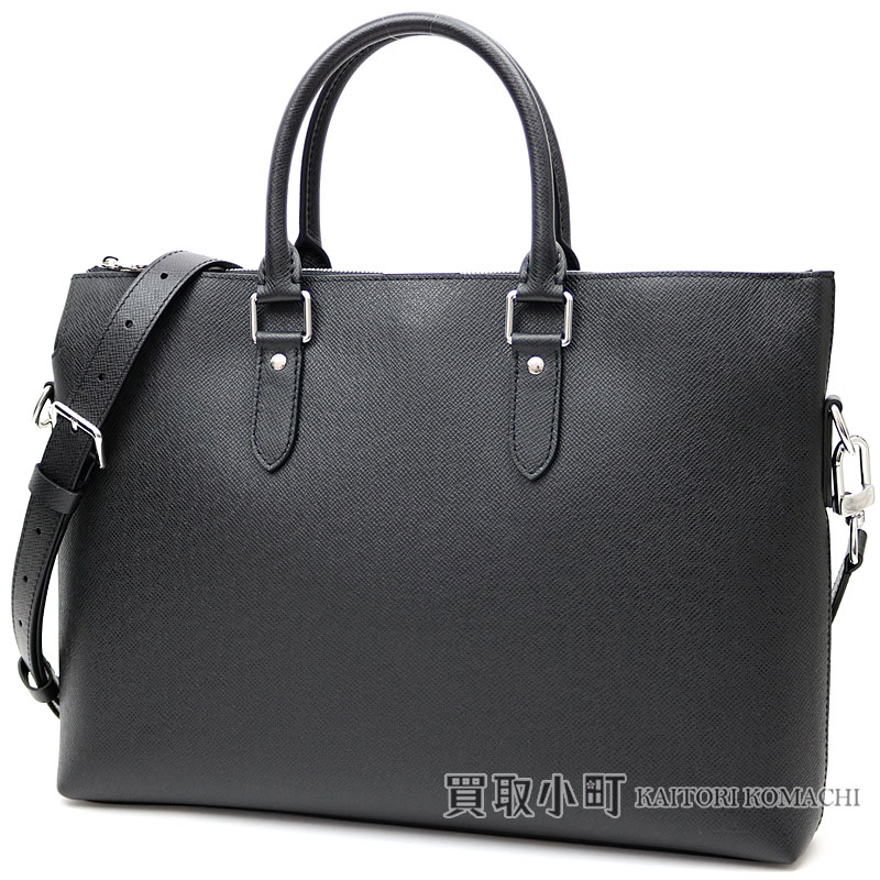 18fdc3dbd KAITORIKOMACHI: Louis Vuitton M33416 アントンブリーフケースタイガノワールブリーフケース briefcase  business bag 2WAY shoulder bag black leather men LV ANTON ...