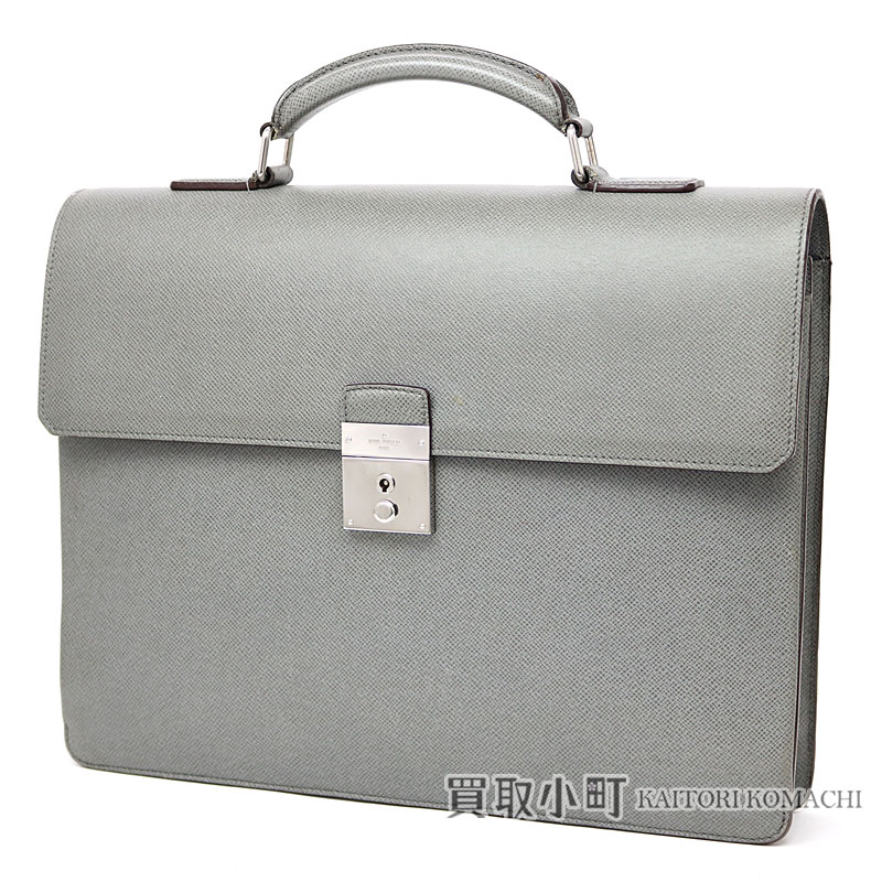 069ae7dfa KAITORIKOMACHI: Louis Vuitton M32660 neo-Rob strike 1 taiga glacis Ebb leaf  case briefcase business bag men LV NEO ROBUSTO 1 BRIEFCASE TAIGA LEATHER  GLACIER ...