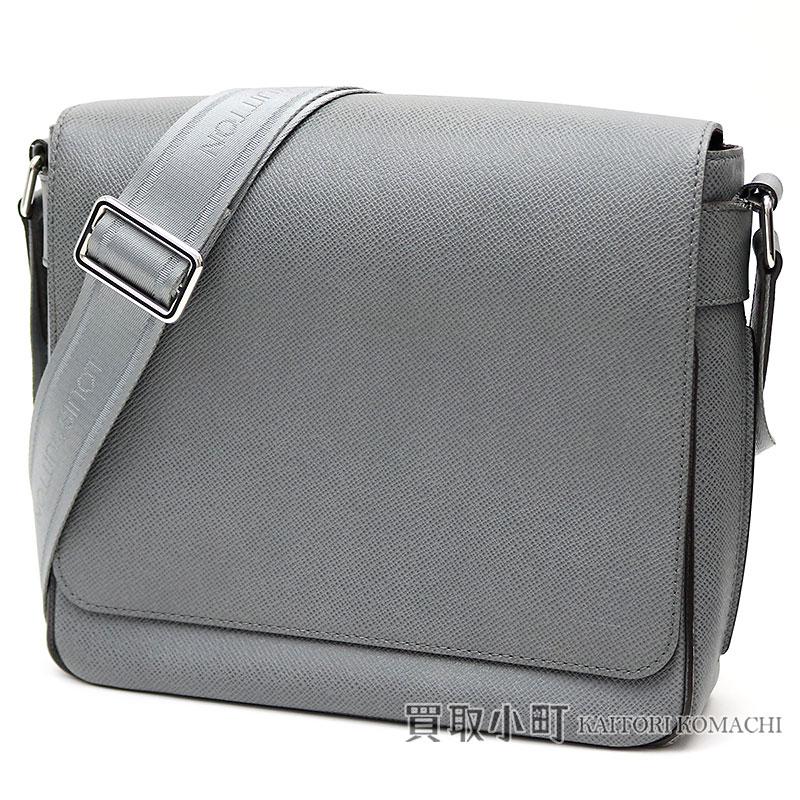 0272fc4cf31 Take a Louis Vuitton M32700 romance PM taiga glacis Emmen's messenger bag  shoulder bag slant; leather LV Roman PM Taiga
