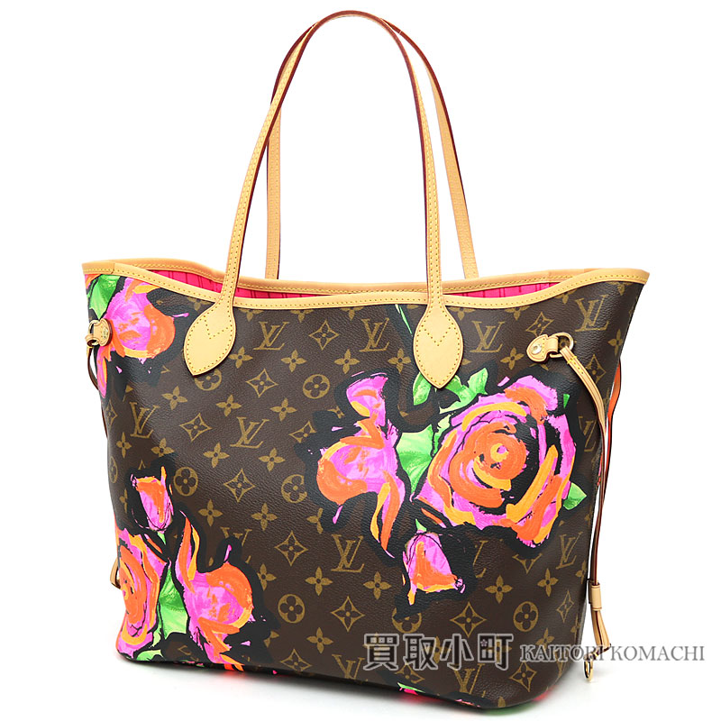 1a22812cf372 Louis Vuitton M48613 ネヴァーフル MM monogram Rose-limited product medium tote bag  shoulder bag icon bag never full MM flower LV NEVERFULL MM MONOGRAM ROSES  ...
