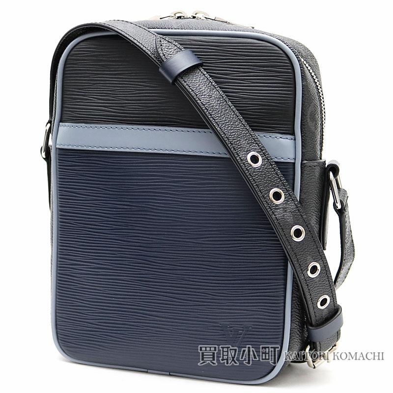 d35539c5fa42e KAITORIKOMACHI  Take a Louis Vuitton M53421 ダヌーブ PM Eppie X monogram  eclipse messenger bag men shoulder bag slant  LV DANUBE PM EPI MONOGRAM  ECLIPSE ...