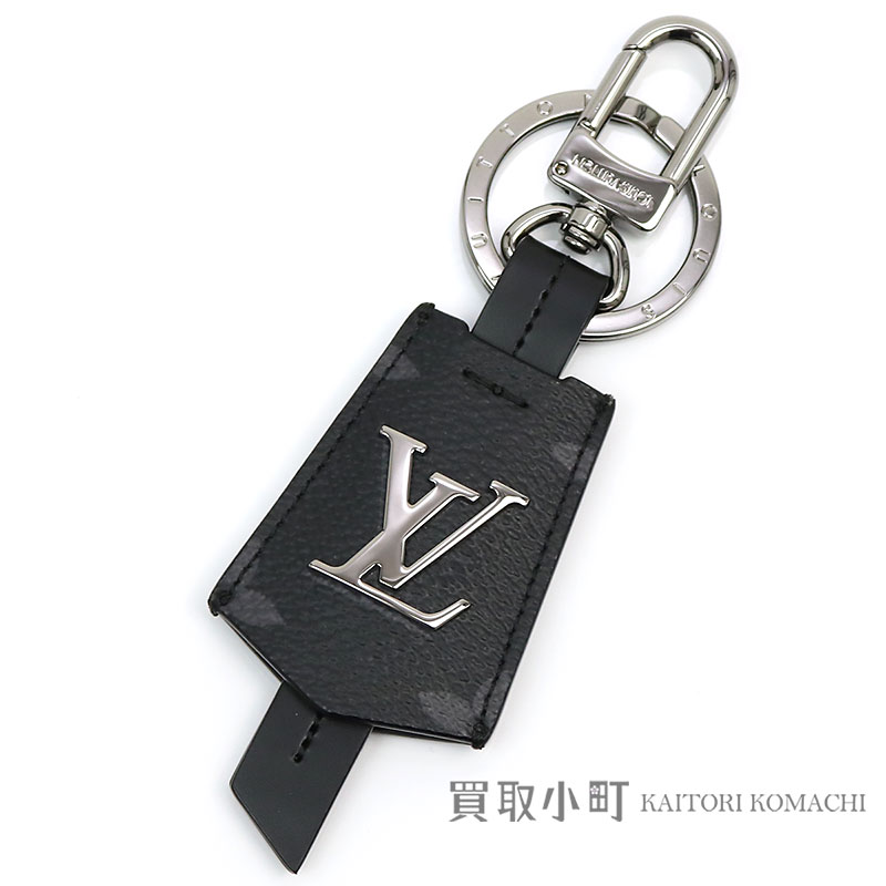 60ba2b40ca16 Louis Vuitton M63620 ポルトクレクロッシュクレモノグラムエクリプスバッグチャームキーホルダーキーリングメンズ LV CLOCHES  CLES BAG CHARM AND KEY HOLDER ...