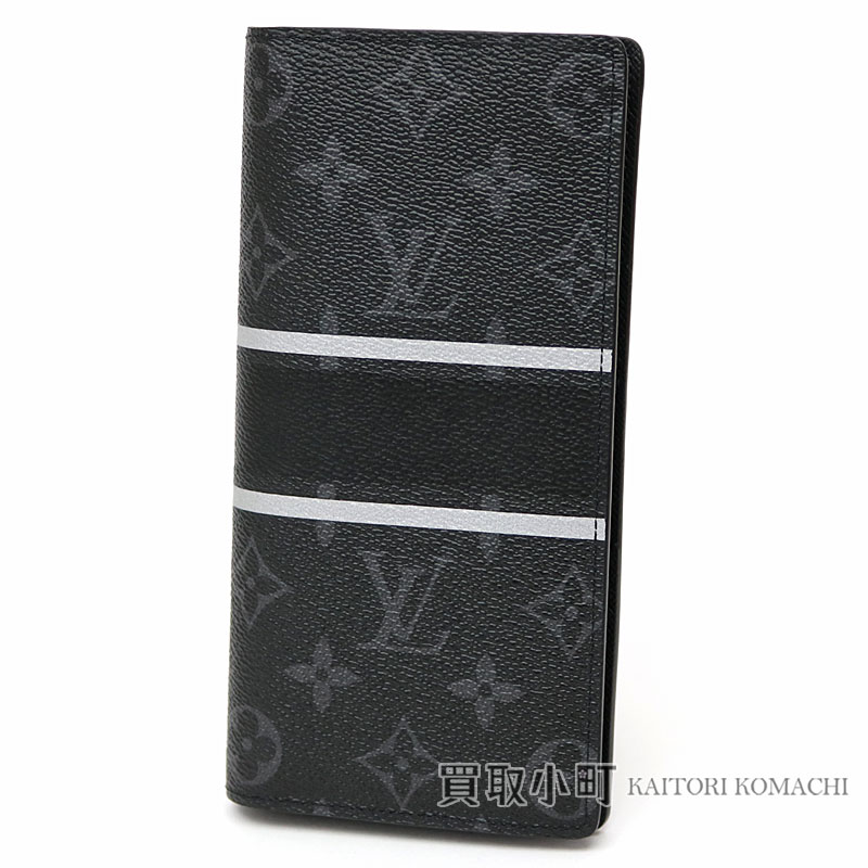 84ca03126667 Men s wallet wallet LV Brazza Wallet with the Louis Vuitton X fragment  M64438 ポルトフォイユブラザ-limited product Hiroshi Fujiwara monogram eclipse flash  ...