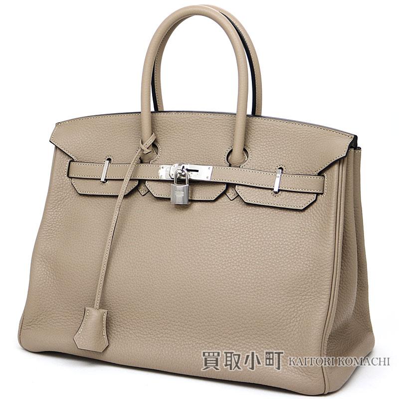Hermes Birkin 35 トゥルティールグレートリヨンクレマンスシルバー metal fittings icon handbag tote  bag 028496CK BIRKIN35 TAURILLON CLEMENCE 8e801e3fcd