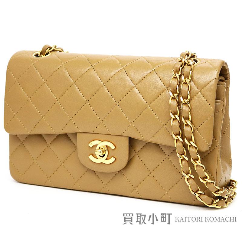 be42f335dc1e KAITORIKOMACHI: Chanel matelasse 23 classic Small flap bag camel lambskin  gold metal fittings W chain shoulder bag constant seller chain bag  matelasse line ...
