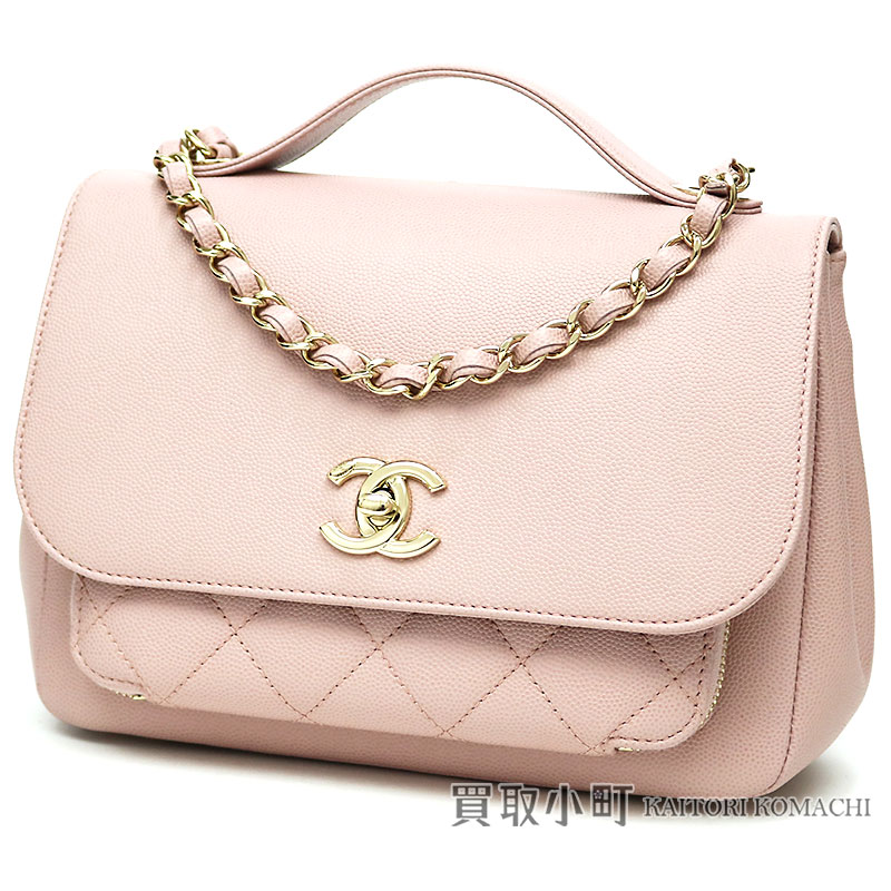 79a404cf100d KAITORIKOMACHI: Chanel caviar skin Small chain shoulder flap bag pink here  mark twist lock classical music handbag matelasse quilting A93749 #24  Caviarskin ...