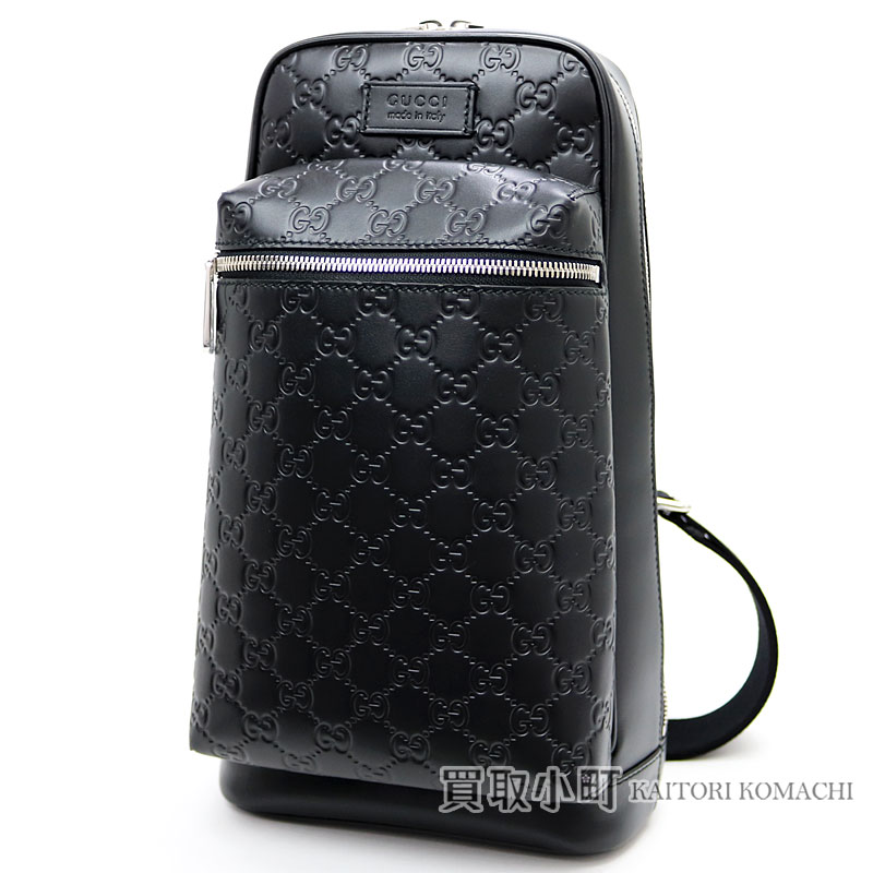 28a6a2d450f Take Gucci Japan-limited Gucci signature crossbody bag black GG pattern  calfskin shoulder bag slant  men s Gucci sima 450970 CWCQJ 1000 Black Gucci  ...