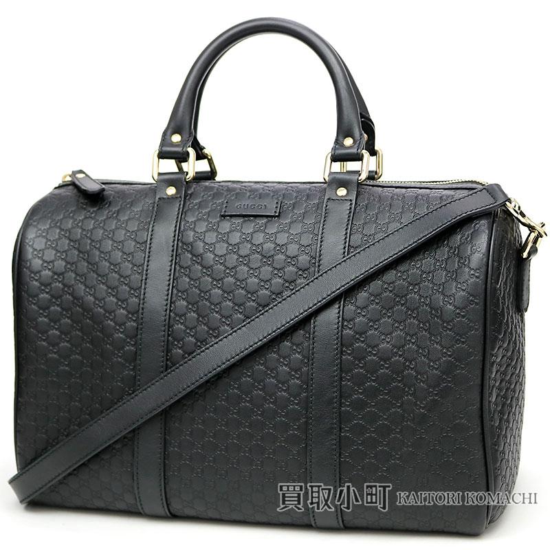 d473f3e2c KAITORIKOMACHI: グッチマイクログッチッシマレザーボストンバッグブラック GG calfskin 2WAY shoulder bag  handbag Gucci sima 449646 BMJ1G 1000 MICRO GUCCISSIMA ...