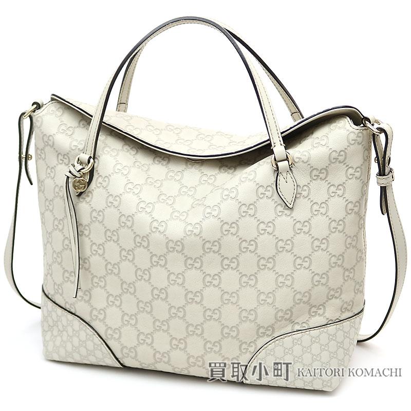 f2b81a79806 グッチブリートップハンドルバッグマイクログッチッシマレザーアイボリー 2WAY shoulder bag handbag Gucci Shimada  bulldog G 353120 BREE MICRO GUCCISSIMA SHOULDER ...