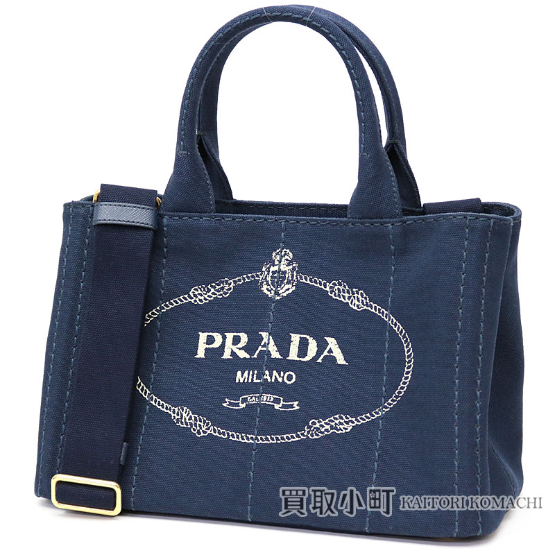 Plastic Dacca Napa Tote Bag Navy Small Silkscreen Print Logo Triangle Cotton Fabric 2way Shoulder Handbag 1bg439 Zki F0216 Canapa Baltico