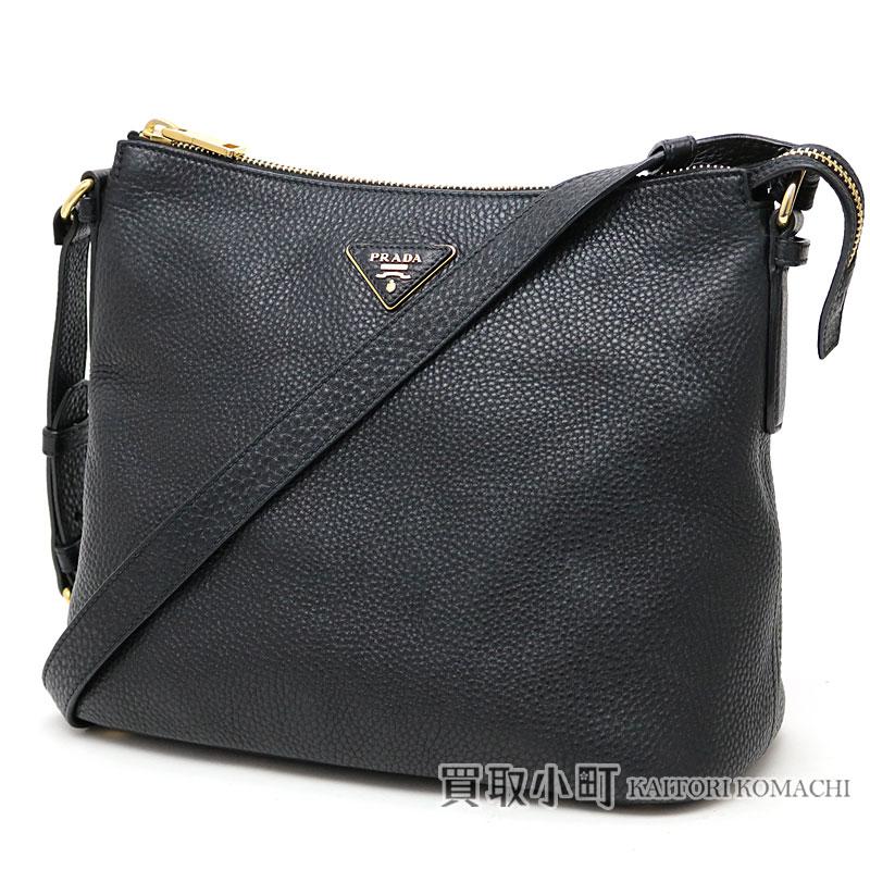 ae2a3d750246fc Prada shoulder bag black grain calf-leather triangle logo messenger bag  BT0979 BBE F0002 SHOULDER ...