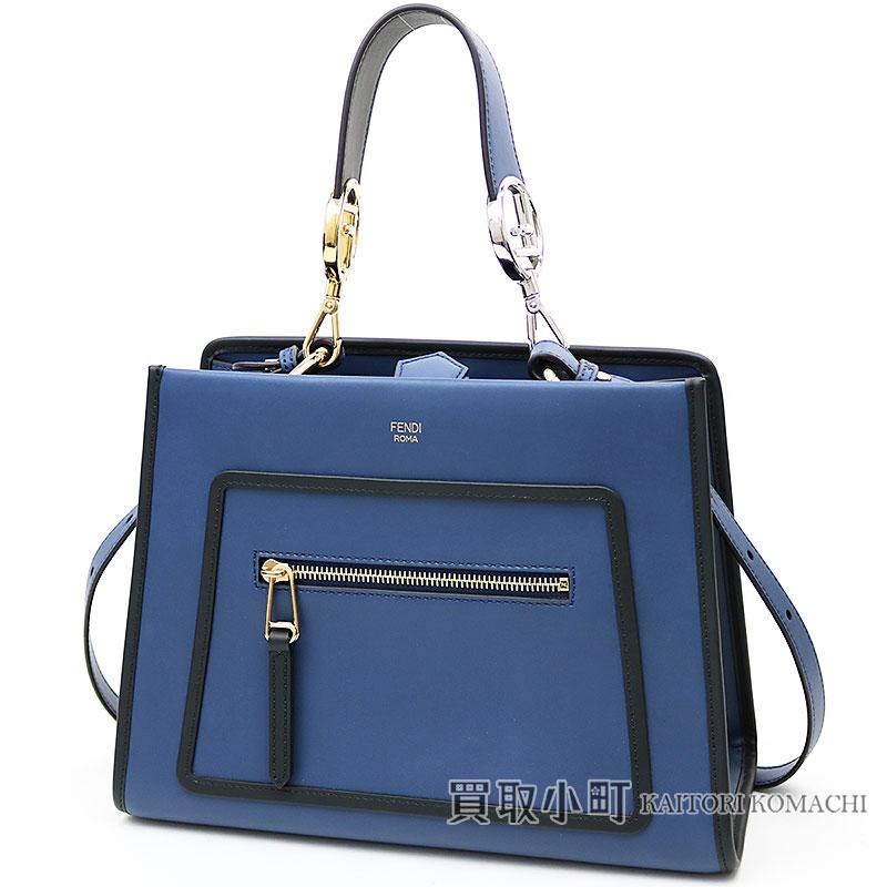 002ef3f644 KAITORIKOMACHI: Fendi Lana way mini-blue leather bag circle F 2WAY shoulder  bag Small tote bag 8BH344 SIZ F0E2A RUNAWAY SMALL TOTE BAG | Rakuten Global  ...