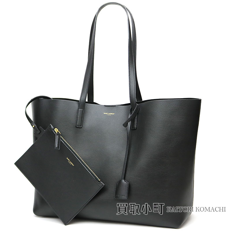 7999b0e0d4f KAITORIKOMACHI: Saint-Laurent shopping Saint-Laurent tote bag black  calf-leather shoulder bag 394195 CSV2J 1000 YSL SAC SHOPPING TOTE BAG    Rakuten Global ...
