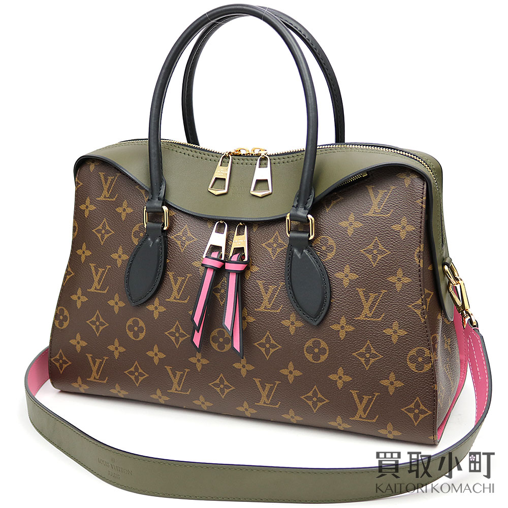 928d414a9b805 KAITORIKOMACHI  Louis Vuitton M41455 テュイルリートートモノグラムカーキ 2WAY shoulder  handbag LV TUILERIES TOTE MONOGRAM