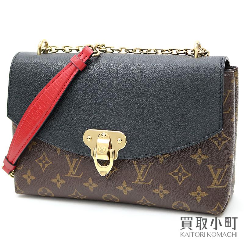 f8bb18191fad KAITORIKOMACHI: Take Louis Vuitton M43714 サンプラシードモノグラムノワールグレインカーフ 2WAY  chain shoulder bag slant; LV SAINT PLACIDE MONOGRAM SHOULDER ...