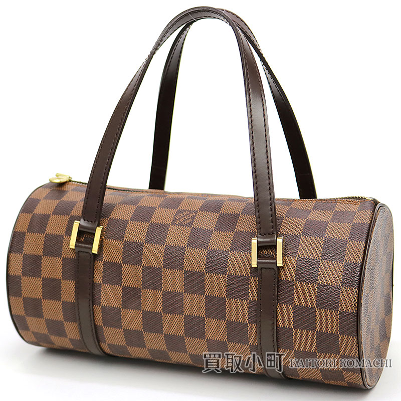 e5b79f3d4ee KAITORIKOMACHI: Louis Vuitton N51304 papillon 27 monogram handbag barrel PM  size LV PAPILLON 27 HAND BAG DAMIER | Rakuten Global Market