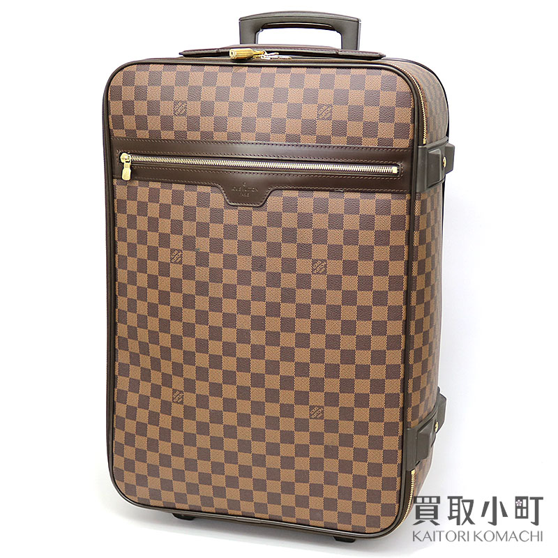 3659fa1ac63e Traveling bag travel kolo kolo cart LV Pegase 60 Damier Ebene Travel  Rolling Luggages with Louis Vuitton N23255 ペガス 60 ダミエキャリーケーストローリー ...