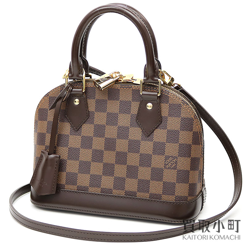 25c0c5ca1c1 Take Louis Vuitton N41221 Al Mar BB ダミエアイコン 2WAY shoulder handbag crossbody  slant; LV ALMA BB DAMIER EBENE