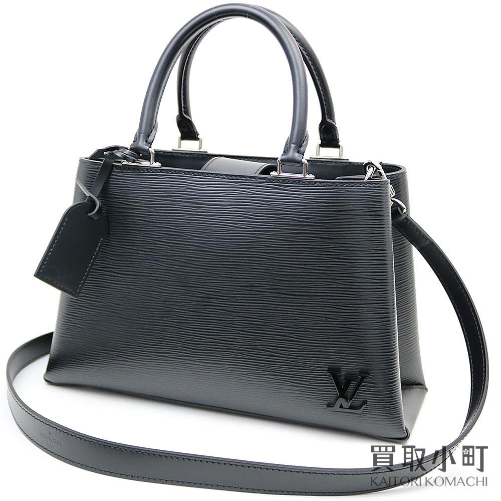 Louis Vuitton M51334 Kleber PM エピノワール 2WAY shoulder tote bag black leather  LV KLEBER PM EPI NOIR TOTE BAG