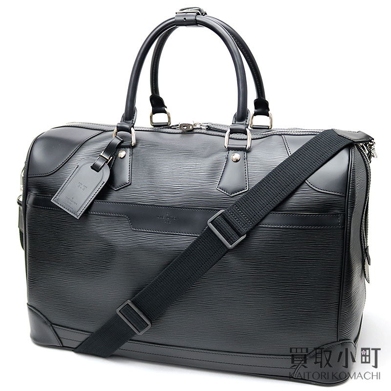 130e4f3e4bc KAITORIKOMACHI: Louis Vuitton M42372 ブルジェ 50 エピノワールボストンバッグ traveling bag  travel duffel black LV BOURGET 50 EPI NOIR TRAVEL BAG | Rakuten ...