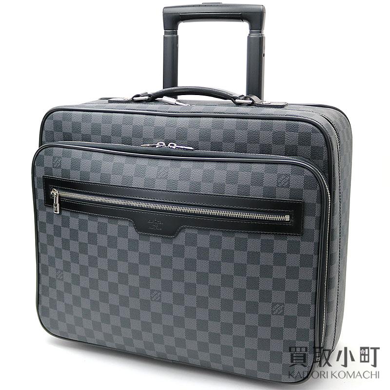 93b88f72ec235 Traveling bag suitcase travel bag kolo kolo cart LV Pilot Case Damier  Graphite Travel Rolling Luggage with Louis Vuitton N23206 パイロットケースダミエグラ ...