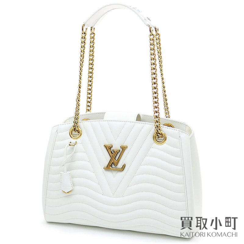a53f9e47c84 KAITORIKOMACHI: Louis Vuitton M51978 Louis Vuitton new wave chain Thoth  Snow quilting calfskin 2WAY shoulder bag multicolored signature LV NEW WAVE  CHAIN ...