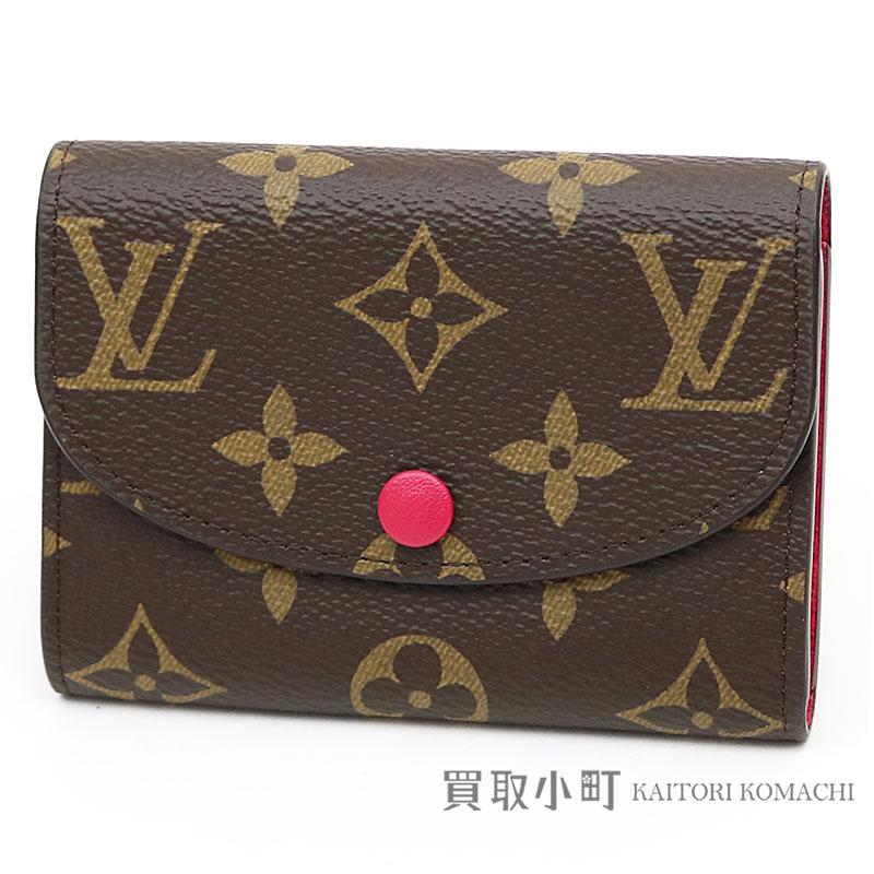 f4369c50653e KAITORIKOMACHI: Louis Vuitton M62532 ポルトモネロザリモノグラムフリージアコインパースコンパクトウォレット wallet  wallet LV ROSALIE COIN PURSE MONOGRAM ...
