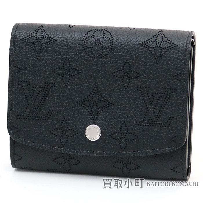 2c6b04e28c739 KAITORIKOMACHI: Louis Vuitton M62540 Porto Foy Yui squirrel compact monogram  paralysis nano Waals lacing braid wallet wallet wallet black leather LV IRIS  ...