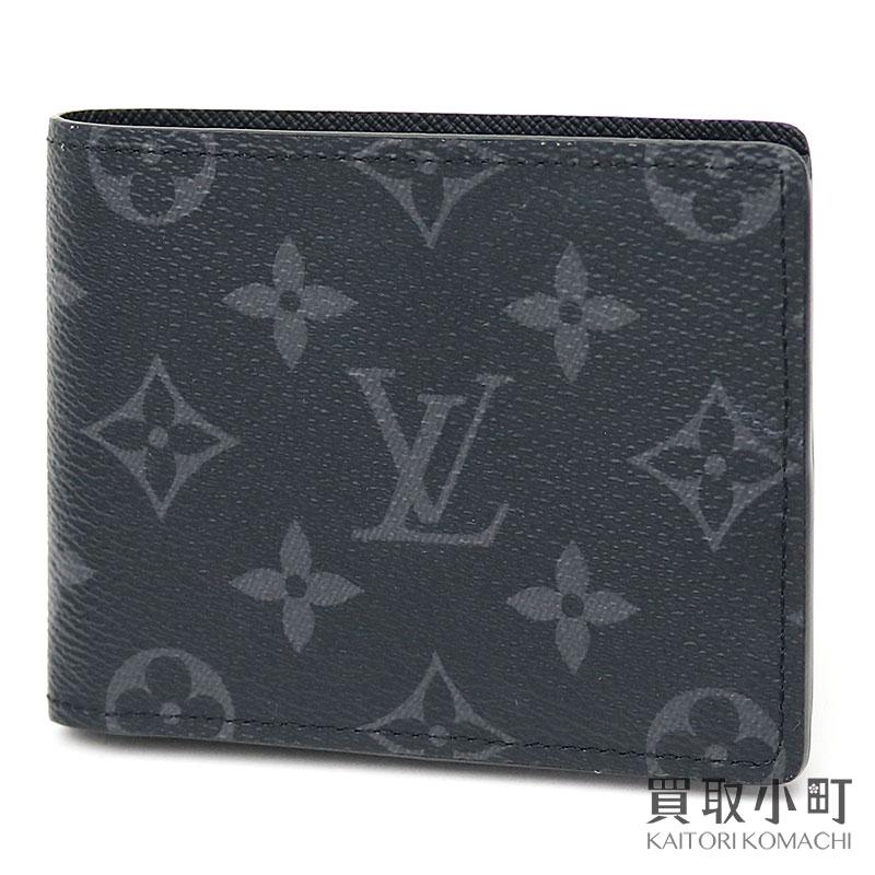 d060d2b8bf77 Louis Vuitton M62294 ポルトフォイユスレンダーモノグラムエクリプス folio wallet billfold men wallet  card case LV SLENDER WALLET MONOGRAM ECLIPSE