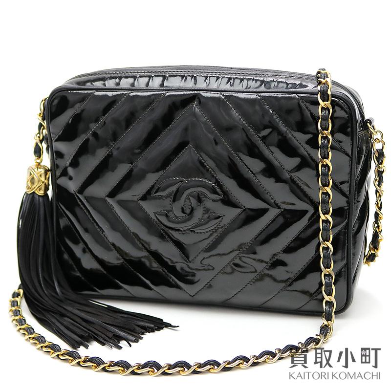 best cheap f1650 6aa83 シャネル Classic Tassel【CHANEL】 ダイヤキルティング ...